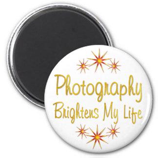 Photography Brightens My Life Fridge Magnet