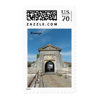 Photography Brouage, France - Stamps