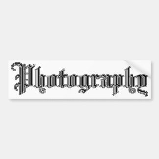 photography bumper sticker