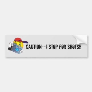 Photography bumper sticker