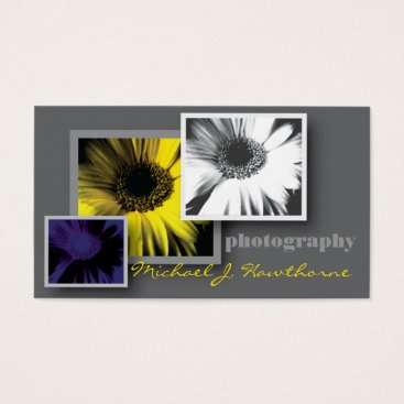 Professional Business Photography Business Card