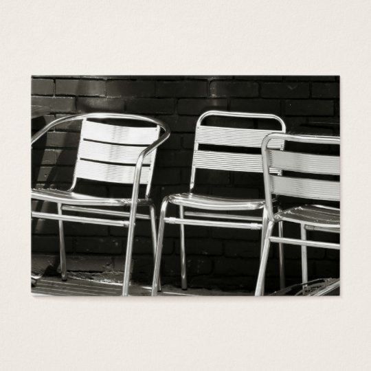 Photography Business Card Chairs