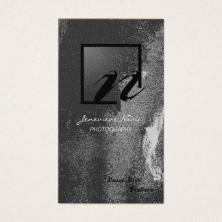 Photography Business Card - Iridescent Monogram