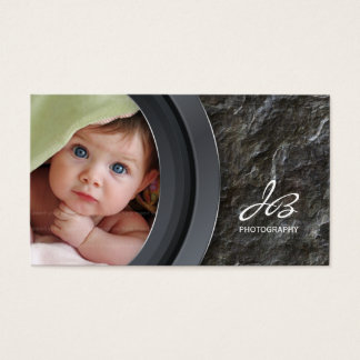 Photography Business Card Rock Stone