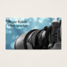Photography Business Cards at Zazzle