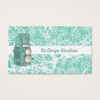 Photography Business Cards Vintage Camera