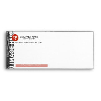 Photography Business Envelope Red