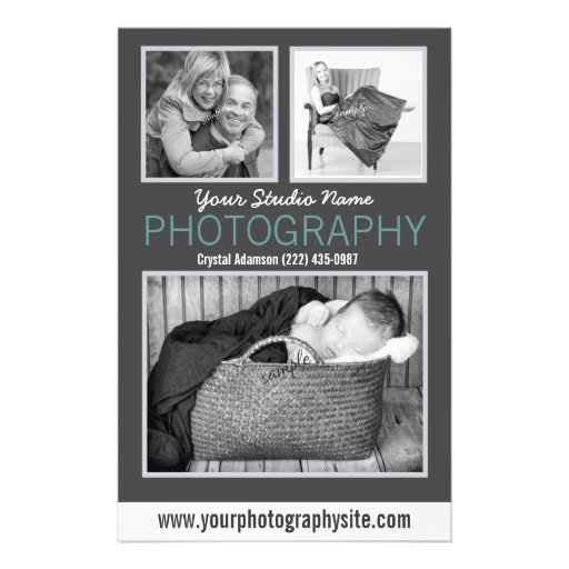 Photography Business Handout Large Sample Photos Flyers
