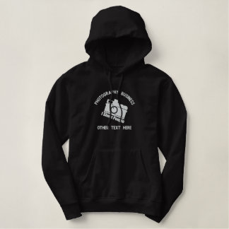 Photography Business Personalized Embroidered Hoodie