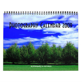 Photography Calendar 2009