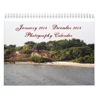 Photography Calender Calendar