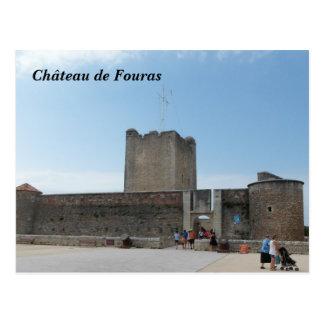 Photography Château de Fouras, France - Postcard