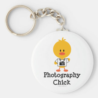 Photography Chick Keychain