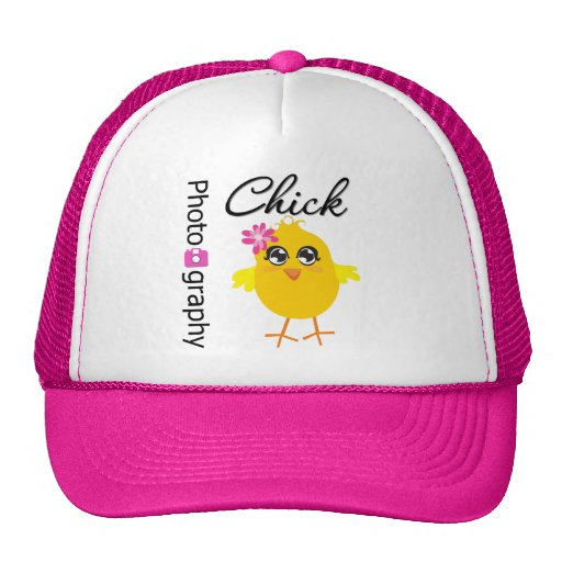 Photography Chick Trucker Hat