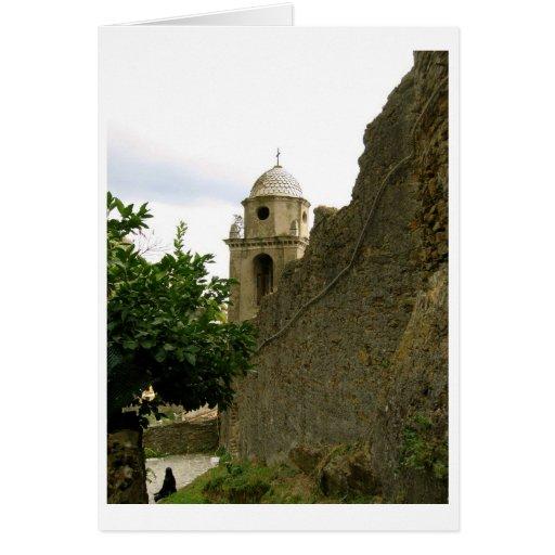 Photography, Cinque Terra, Vernazza, Italy Card