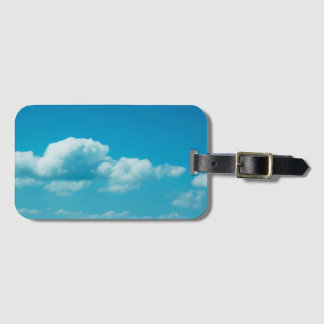 Photography - clouds in the sky + your ideas bag tag
