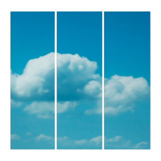 Photography - CLOUDS IN THE SKY + your ideas Triptych