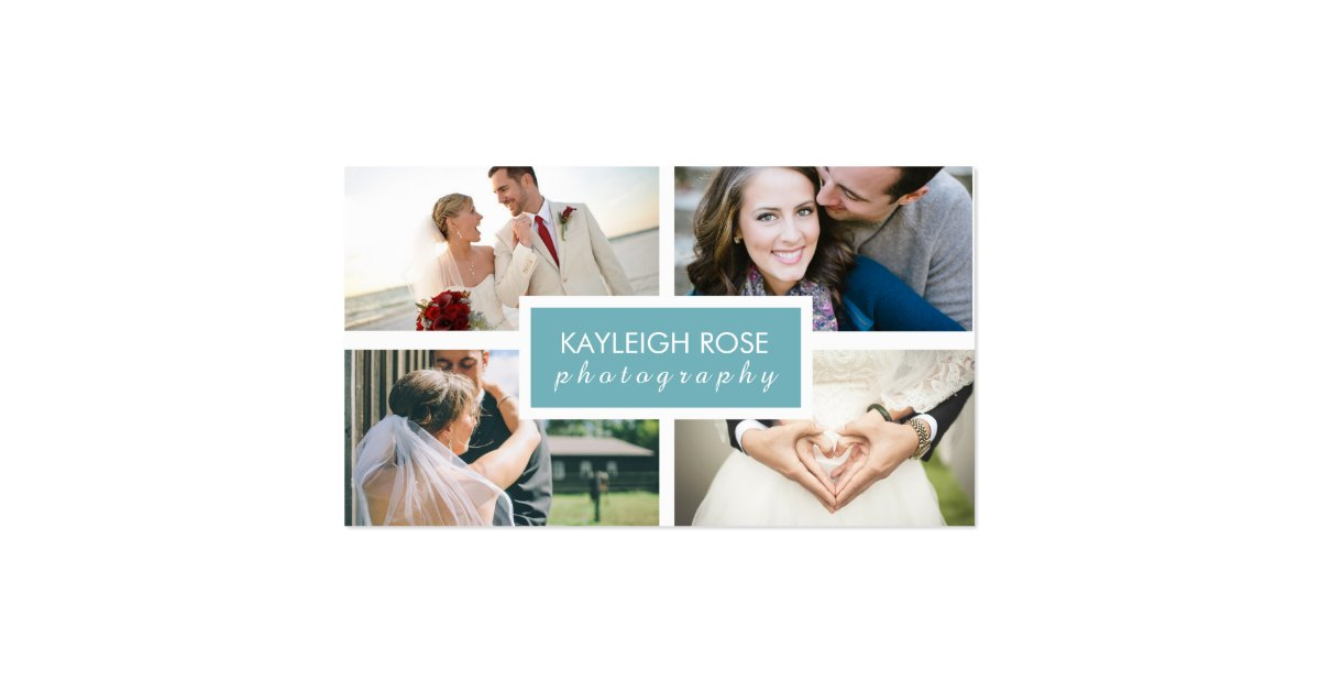 Photography Collage Business Card : Zazzle