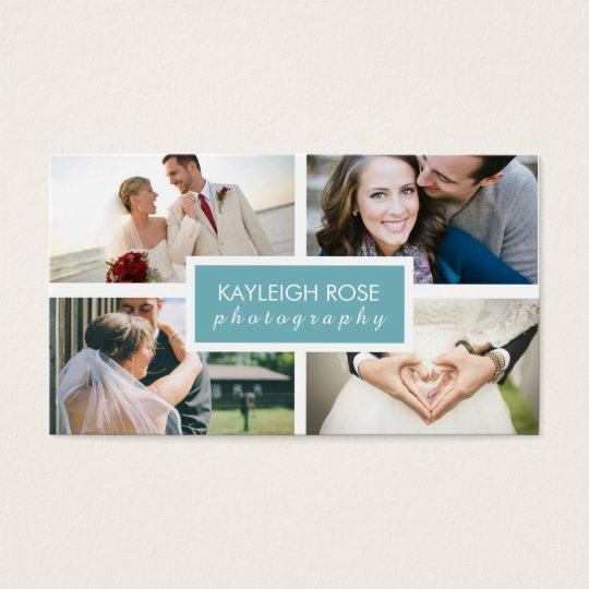 Photography collage business card zazzle photography collage business card colourmoves