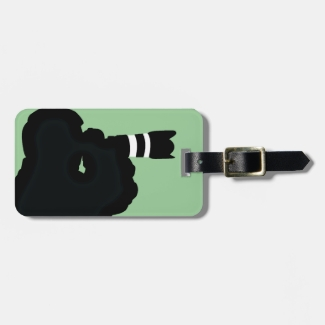 Photography Design Luggage Tags