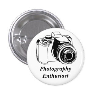 Photography Enthusiast 1 Inch Round Button