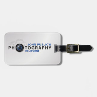 Photography Equipment Luggage Tags