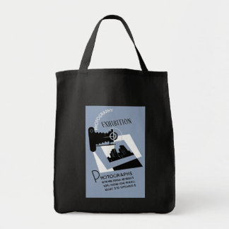 Photography Exhibit Grocery Tote Bag