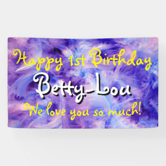 Photography - feathers blue violet + your ideas banner
