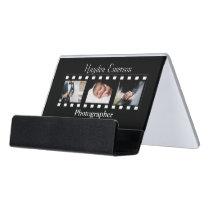 Photography Film Frames Photos Photographer Desk Business Card Holder