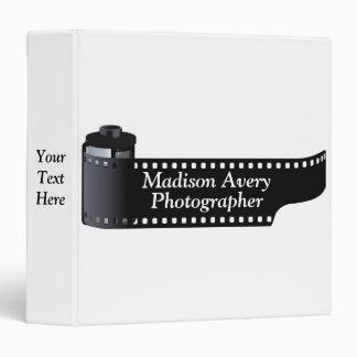 Photography Film Roll Photographer Minimal Binder