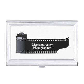Photography Film Roll Photographer Minimal Business Card Holder