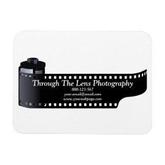 Photography Film Roll Photographer Minimal Magnet