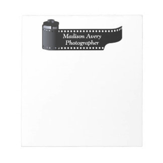 Photography Film Roll Photographer Minimal Notepad