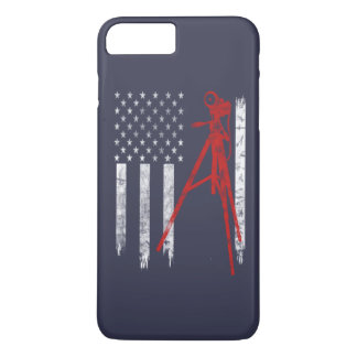 PHOTOGRAPHY FLAG iPhone 8 PLUS/7 PLUS CASE
