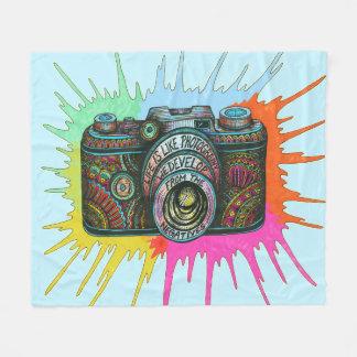 Photography Fleece Blanket