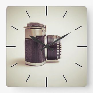 Photography / Fotografie Square Wall Clock