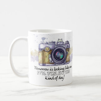Photography Gift Mug, with camera geek quote, wate Coffee Mug