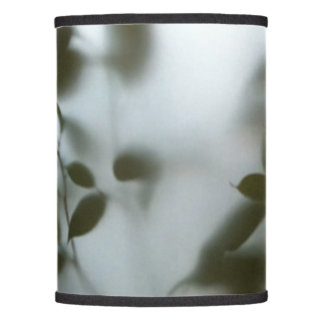 Photography green plants milky glass 01 lamp shade