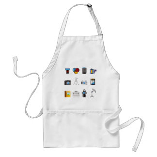 Photography Icon Adult Apron