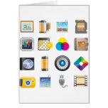 Photography Icon Greeting Card
