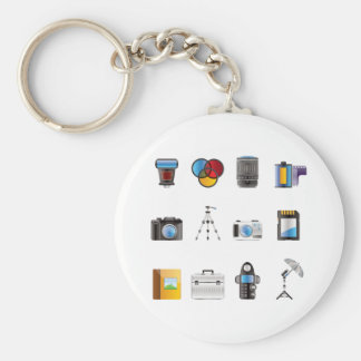 Photography Icon Keychain