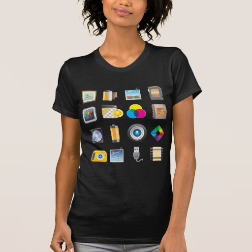 Photography Icon T Shirt