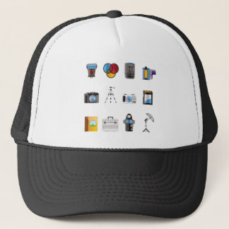 Photography Icon Trucker Hat