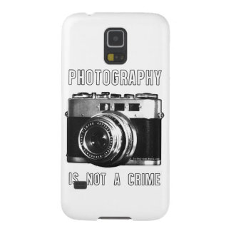 Photography is not a crime. galaxy s5 cover