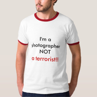 Photography is not a crime (Ringer shirt) T-Shirt