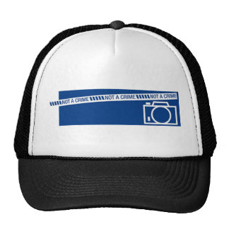Photography is not a crime trucker hat