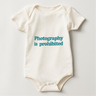 Photography is Prohibited Baby Bodysuit
