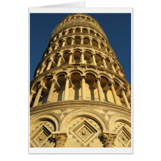 Photography, Italy, Pisa, Tower Card