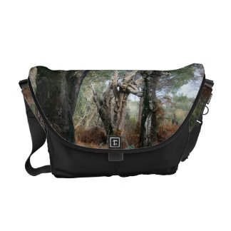 Photography landscape of cork oaks in Doñana Courier Bag