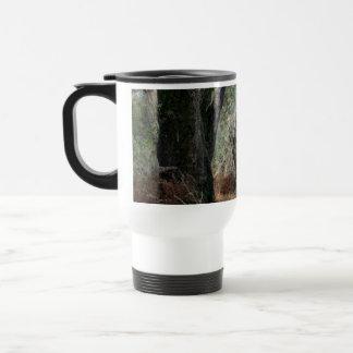 Photography landscape of cork oaks in Doñana Coffee Mug